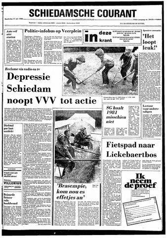 Rotterdamsch Nieuwsblad / Schiedamsche Courant / Rotterdams Dagblad / Waterweg / Algemeen Dagblad 1980-07-17