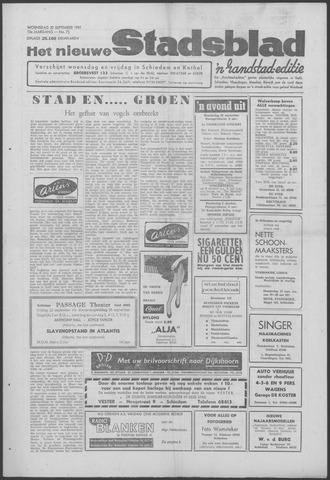 Het Nieuwe Stadsblad 1961-09-20