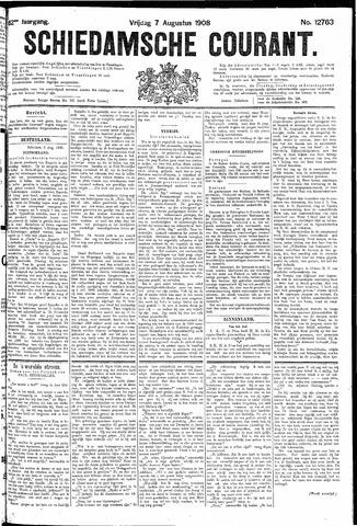 Schiedamsche Courant 1908-08-07