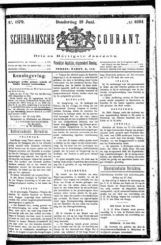 Schiedamsche Courant 1879-06-19