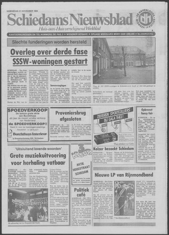 Schiedams Nieuwsblad 1984-11-21
