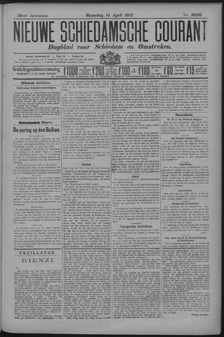 Nieuwe Schiedamsche Courant 1913-04-14