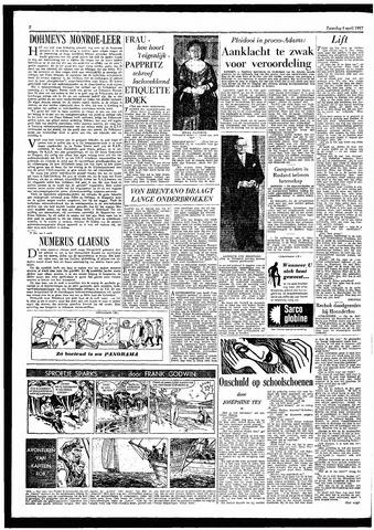 Rotterdamsch Parool / De Schiedammer 1957-04-06