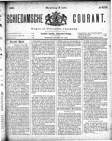 Schiedamsche Courant 1885-06-08