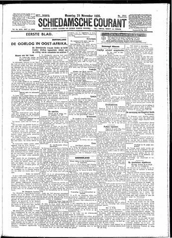 Schiedamsche Courant 1935-11-25