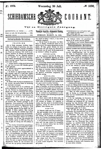 Schiedamsche Courant 1881-07-20