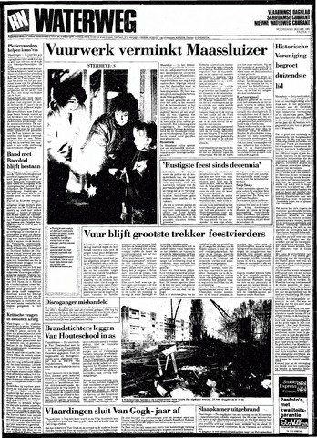 Rotterdamsch Nieuwsblad / Schiedamsche Courant / Rotterdams Dagblad / Waterweg / Algemeen Dagblad 1991-01-02