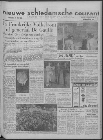 Nieuwe Schiedamsche Courant 1958-05-29