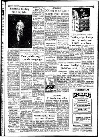 Rotterdamsch Parool / De Schiedammer 1961-10-25
