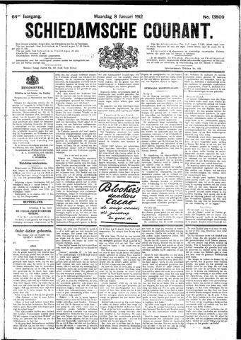 Schiedamsche Courant 1912-01-08