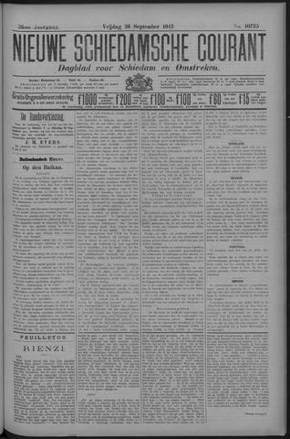 Nieuwe Schiedamsche Courant 1913-09-26