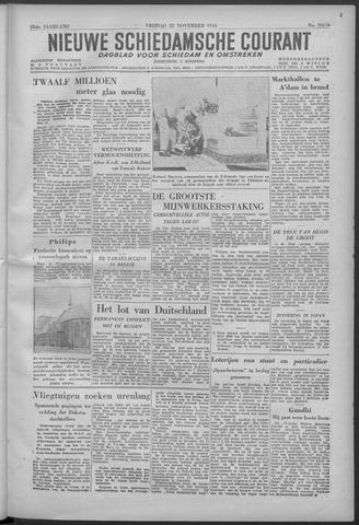 Nieuwe Schiedamsche Courant 1946-11-22