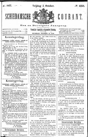 Schiedamsche Courant 1877-10-05