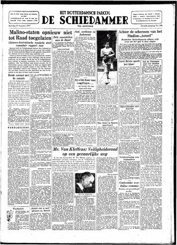 Rotterdamsch Parool / De Schiedammer 1947-08-23