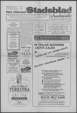 Het Nieuwe Stadsblad 1961-01-25