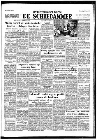 Rotterdamsch Parool / De Schiedammer 1949-08-31