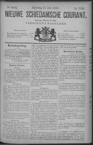 Nieuwe Schiedamsche Courant 1886-07-31