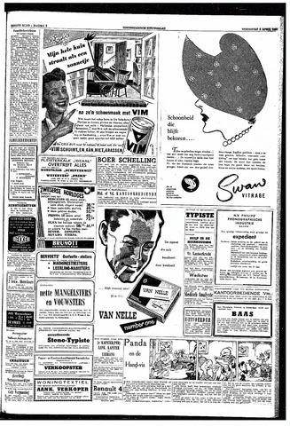 Rotterdamsch Nieuwsblad / Schiedamsche Courant / Rotterdams Dagblad / Waterweg / Algemeen Dagblad 1953-04-08