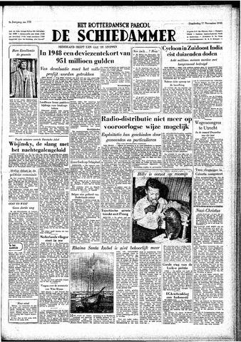 Rotterdamsch Parool / De Schiedammer 1949-11-17