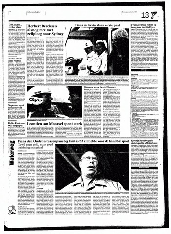 Rotterdamsch Nieuwsblad / Schiedamsche Courant / Rotterdams Dagblad / Waterweg / Algemeen Dagblad 1998-09-16