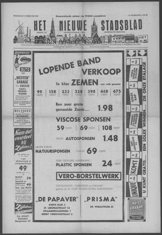 Het Nieuwe Stadsblad 1955-02-02