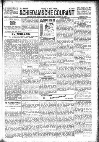 Schiedamsche Courant 1929-04-05