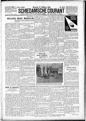 Schiedamsche Courant 1933-08-21