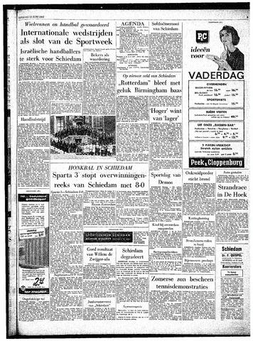 Rotterdamsch Parool / De Schiedammer 1962-06-12