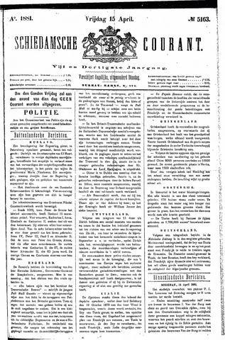 Schiedamsche Courant 1881-04-15
