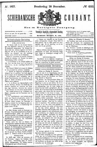 Schiedamsche Courant 1877-12-20