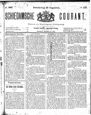 Schiedamsche Courant 1883-08-23