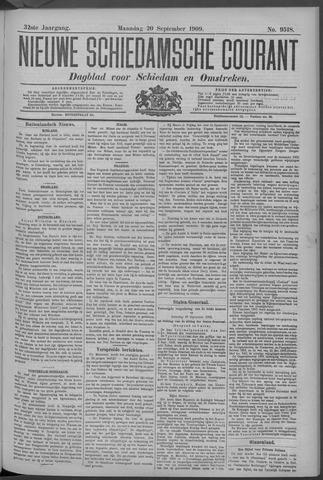 Nieuwe Schiedamsche Courant 1909-09-20