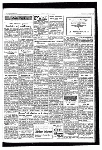 Rotterdamsch Nieuwsblad / Schiedamsche Courant / Rotterdams Dagblad / Waterweg / Algemeen Dagblad 1953-10-19