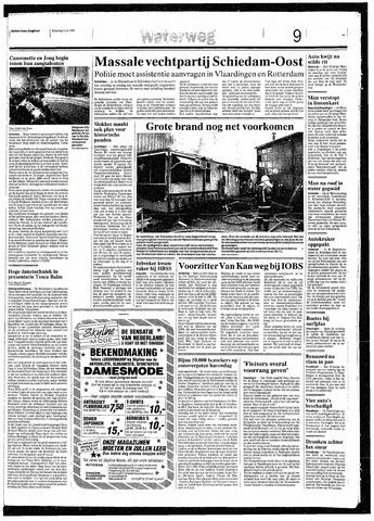 Rotterdamsch Nieuwsblad / Schiedamsche Courant / Rotterdams Dagblad / Waterweg / Algemeen Dagblad 1993-07-05