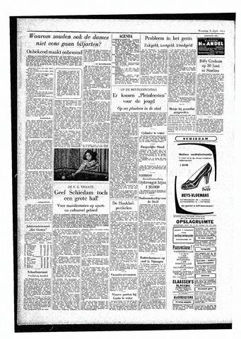 Rotterdamsch Parool / De Schiedammer 1955-04-06