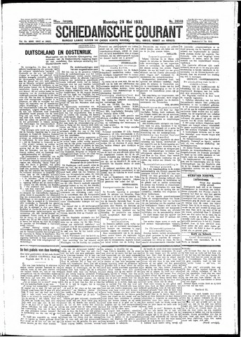 Schiedamsche Courant 1933-05-29