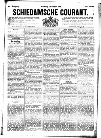 Schiedamsche Courant 1916-03-20