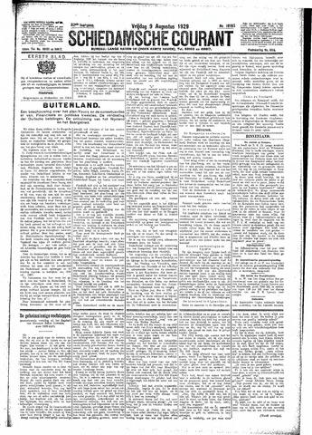 Schiedamsche Courant 1929-08-09