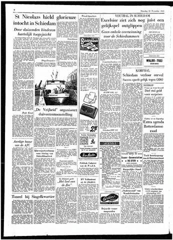 Rotterdamsch Parool / De Schiedammer 1955-11-28