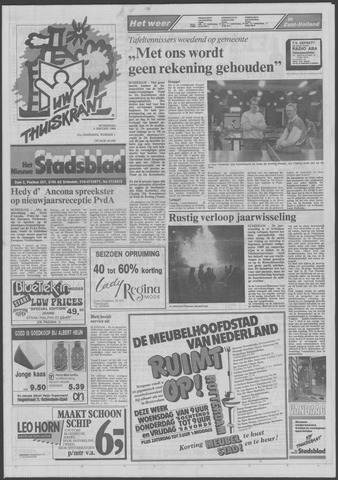 Het Nieuwe Stadsblad 1989-01-04