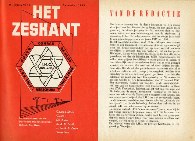 Het Zeskant 1949-12-01