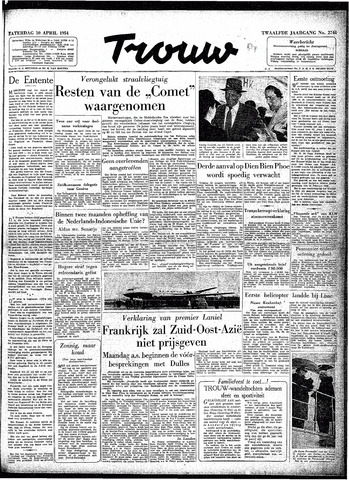 Trouw / De Rotterdammer 1954-04-10