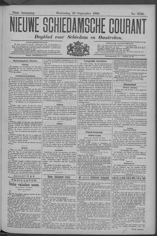 Nieuwe Schiedamsche Courant 1909-09-29