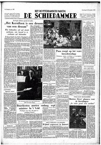 Rotterdamsch Parool / De Schiedammer 1949-12-24
