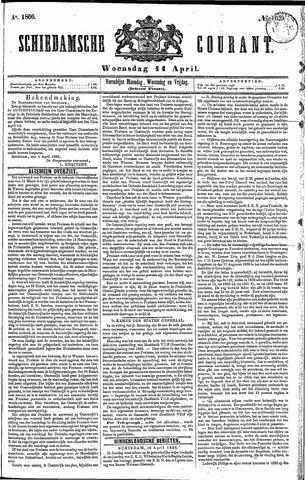 Schiedamsche Courant 1866-04-11