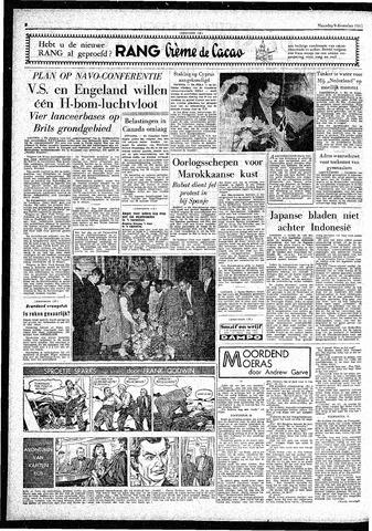 Rotterdamsch Parool / De Schiedammer 1957-12-09
