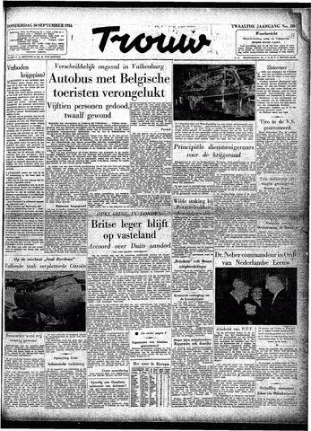 Trouw / De Rotterdammer 1954-09-30
