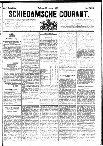 Schiedamsche Courant 1912-01-26