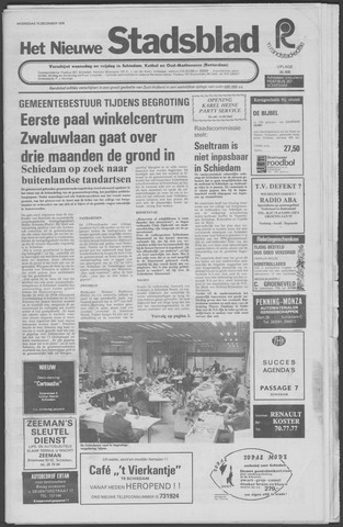 Het Nieuwe Stadsblad 1976-12-15