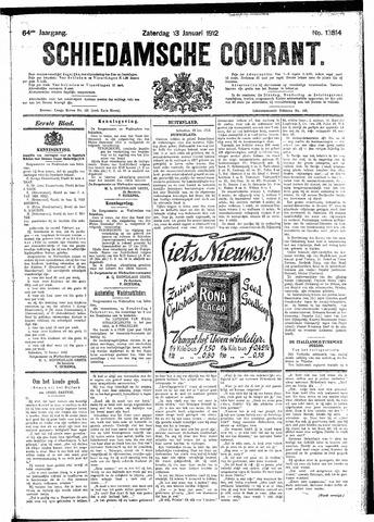 Schiedamsche Courant 1912-01-13